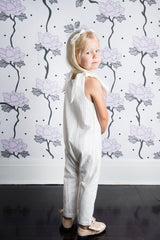In The Meadows Jumpsuit - Ivory Broderie