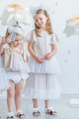 Style Set: Hearts Flutter Dress and Posie Skirt - Hearts Tulle