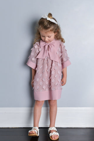 Over The Hill Dress - Berry Blossom