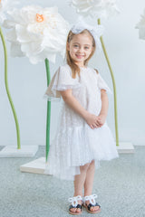 Hearts Flutter Dress - Hearts Tulle
