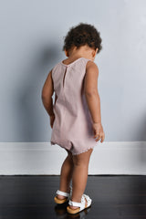 What You Are Playsuit - Dusty Rose
