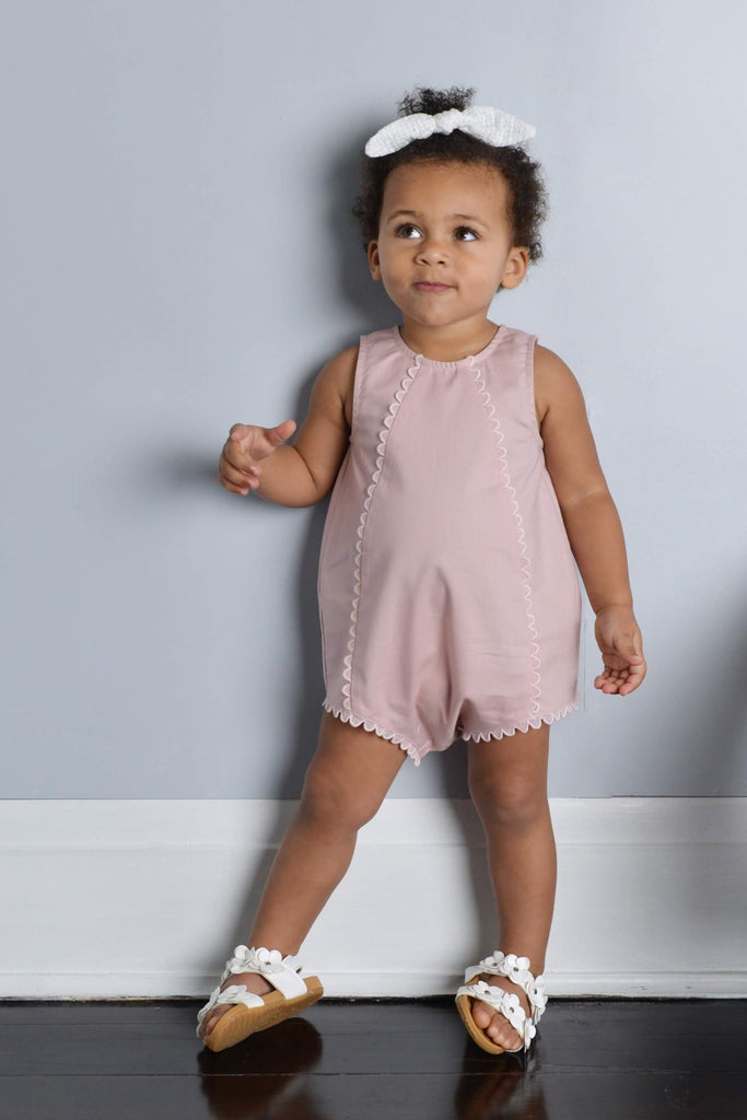 222c1ff561 What You Are Playsuit - Dusty Rose