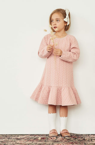 Lucy Locket Dress - Tea Rose