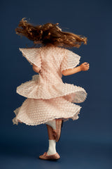 STYLE SET: Hearts Flutter Dress and Ran Away Skirt - Rose Gold