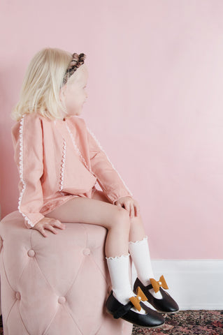 Like a Diamond Playsuit - Tea Rose