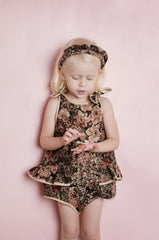 Pudding and Pie Playsuit - Antique Floral