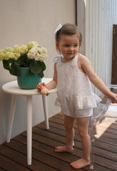 Pudding and Pie Playsuit - Broderie Floral