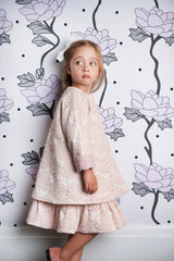 Hush Little Baby Jacket - Rose Jacquard