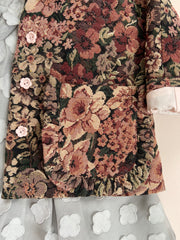 Hush Little Baby Jacket - Antique Floral