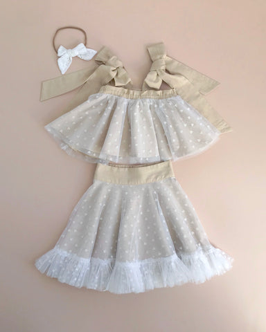 Style Set: One Day Top and Posie Skirt - Hearts Tulle