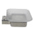 QT Modern Bathroom Soap Dish - Stainless Steel