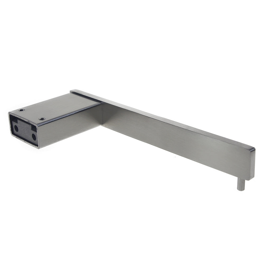 QT Modern Bathroom Straight Towel Bar - Stainless Steel