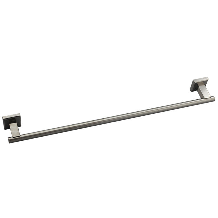 QT Premium Modern Single Towel Bar Rack w/ Square Base (24 Inches)