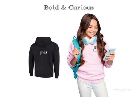 Bold & Curious Unisex Youth Hoodie