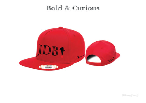 Bold & Curious Cotton Twill Snap Back Hat