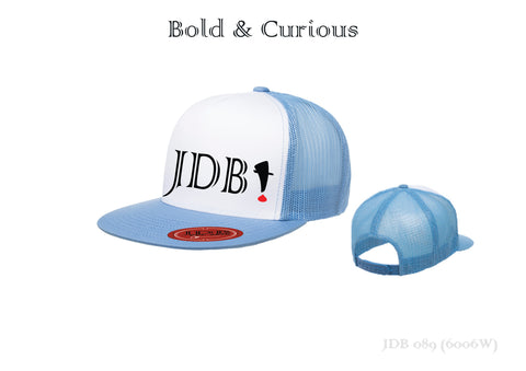 Bold & Curious Snap Back Classic Trucker Hat