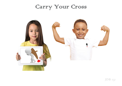 Carry Your Cross Unisex Youth Tee