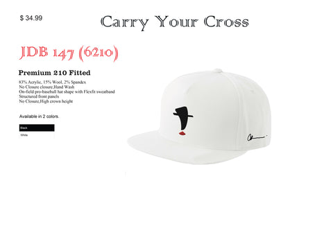 Carry Your Cross Fitted Hat