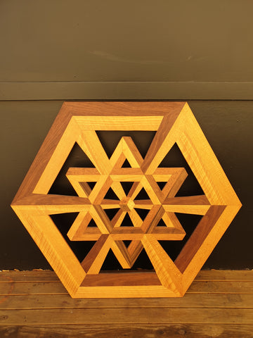 michael cheshire geometric artwork