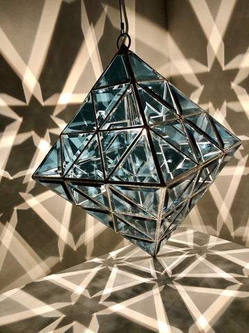 octahedron ceiling light