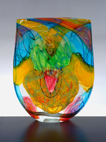 noel hart blown glass
