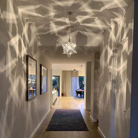 hanging lights for the hallway