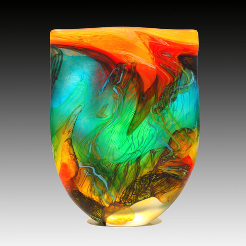 hand blown glass australian artist
