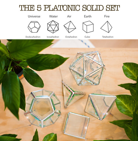 platonic solid set