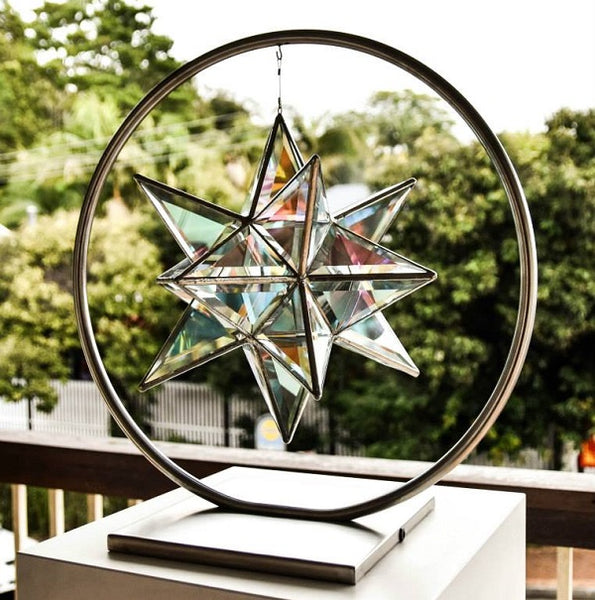 Extra Large Full Moon Stand for Sculptures 60cm x 46cm