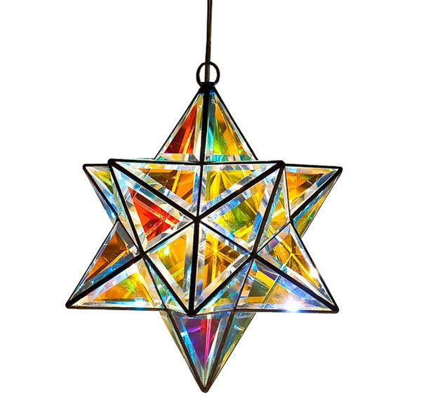 Scorpius Luminary - Glass Pendant Light - Dichroic