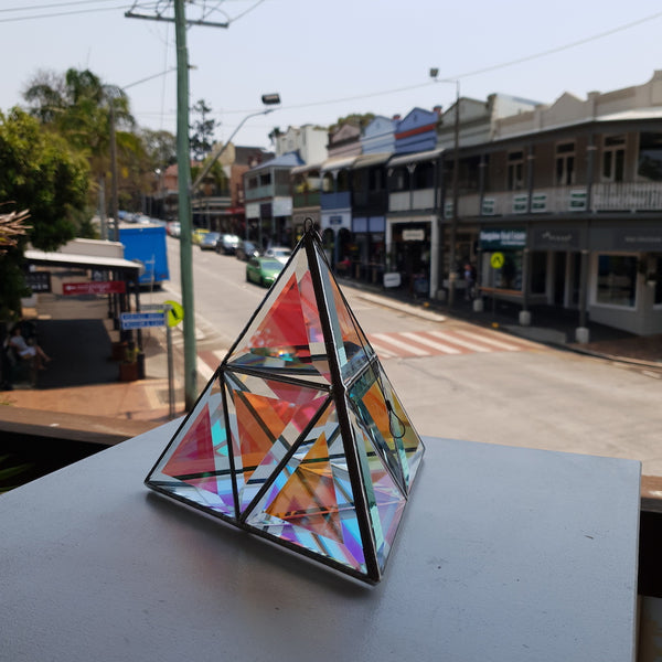 Orion Geometrica Glass Sculpture