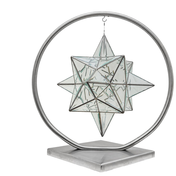 Geometric Sculpture Stand - 'Full Moon' (Stand only)