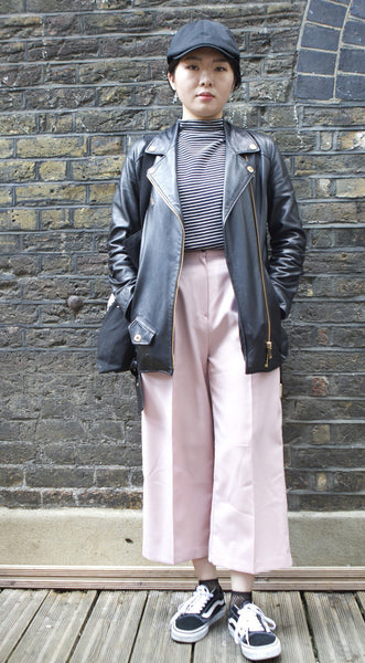 Hyunjin / Culottes & Biker Jacket - London