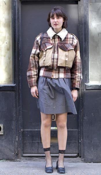Sarah / Plaid Jacket - London