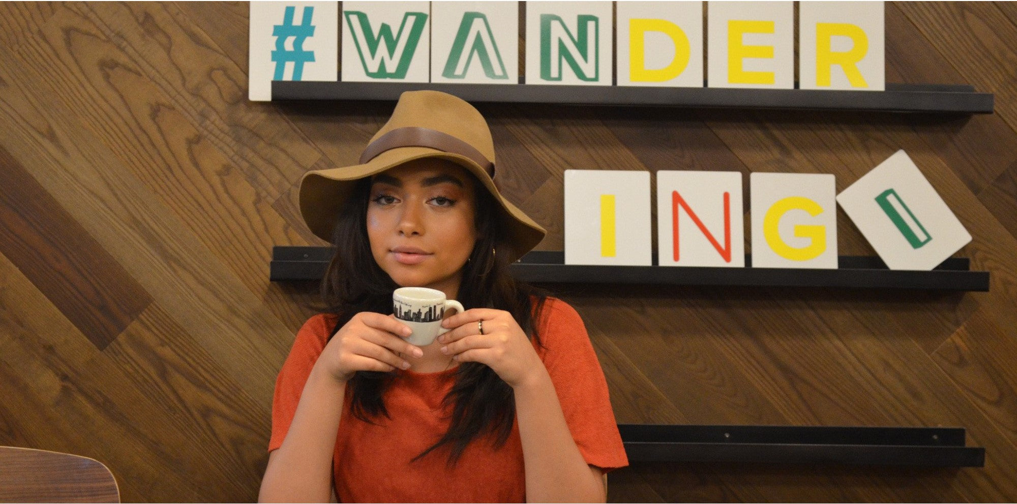 S.M.J Owner and founder of Wandering I fashion