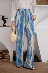 Seoul Tie Dye Ribbed Pants