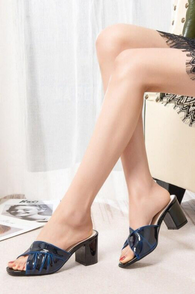 Seoul Patent Leather Heels