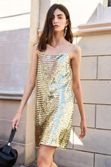 Milan Sequin Sleeveless Dress