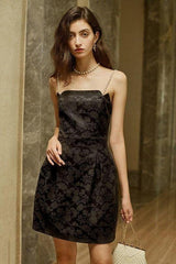 Milan Pearl Jacquard Dress