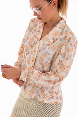 London Vintage Floral Jacket-Outerwear-Wandering I