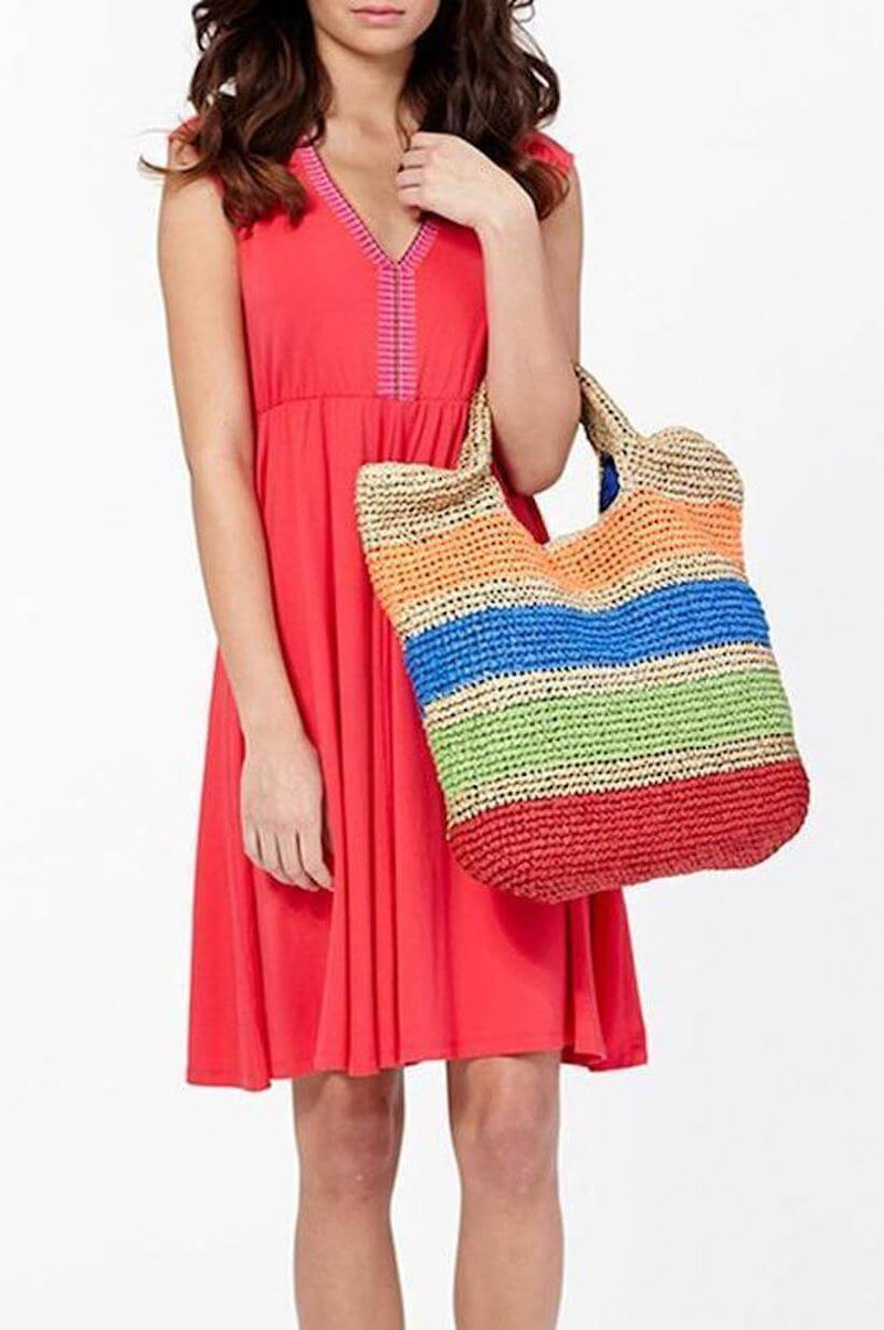 Madrid Crochet Straw Bag