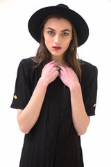 New York Vintage Fitted Dress-Dress-Wandering I
