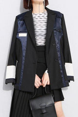 Seoul Colourblock Loose Jacket
