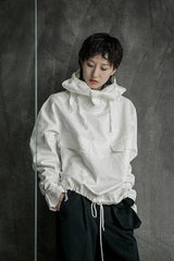 Seoul Hooded Drawstring Jacket