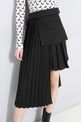Madrid Asymmetric Ruffle Skirt