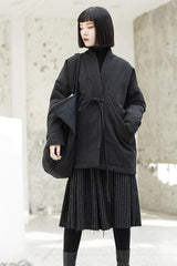Seoul Tweed Tassel Coat