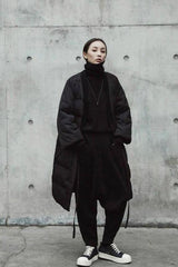 Seoul Solid Wrap Puffer Coat