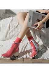 Seoul Transparent Ankle Boot-Accessories-Wandering I