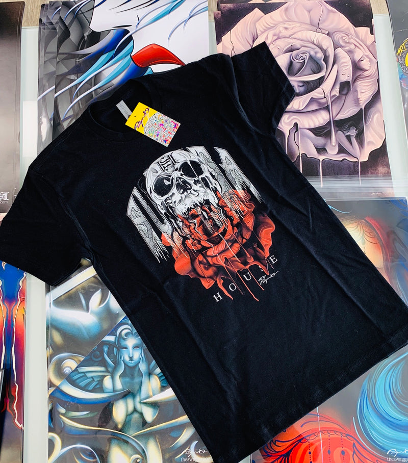 Skull and Rose Tee