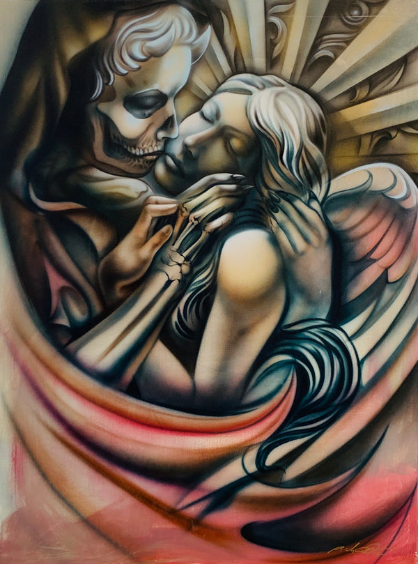 Kiss of Death (Acrylic On Canvas) 36x48